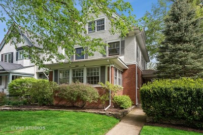 Wilmette Single Family Home For Sale: 618 Central Avenue