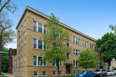 Condo/Townhouse For Sale: 4100 North Wolcott Avenue #2