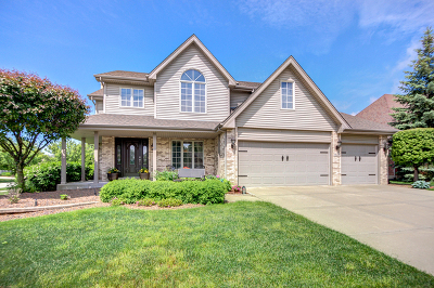 Orland Park Single Family Home Price Change: 18236 Clear Creek Crossing