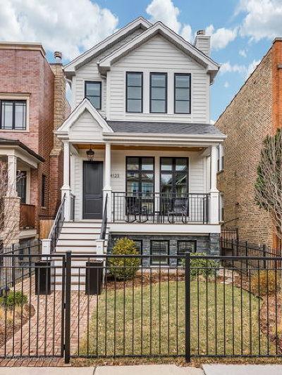 Single Family Home For Sale: 4123 North Oakley Avenue