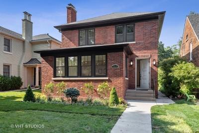 Evanston Single Family Home For Sale: 3035 Thayer Street