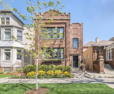 Single Family Home For Sale: 1916 West Bradley Place