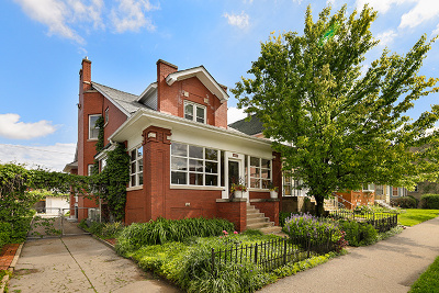 Single Family Home For Sale: 3428 West Wrightwood Avenue