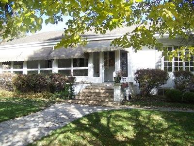 Glen Ellyn Single Family Home Price Change: 270 Kenilworth Ct