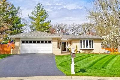 Willowbrook Single Family Home For Sale: 10s211 Argonne Ridge Road