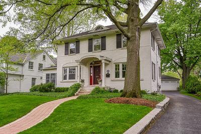 Glen Ellyn Single Family Home For Sale: 234 Merton Avenue