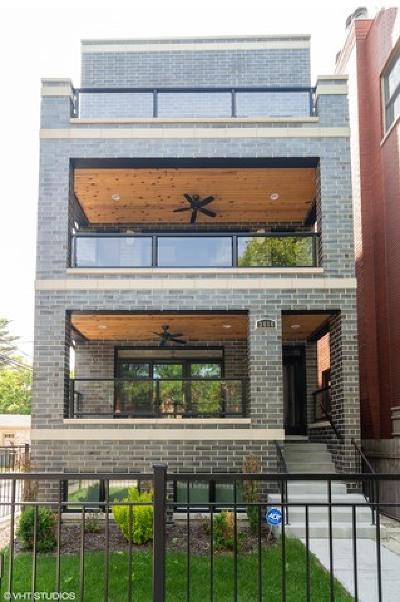 Condo/Townhouse For Sale: 3614 North Damen Avenue #2