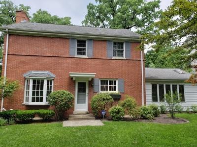 Wilmette Single Family Home For Sale: 1236 Elmwood Avenue