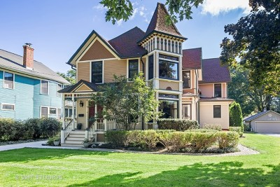 Single Family Home For Sale: 419 North Wheaton Avenue