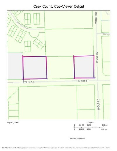 Mokena Residential Lots & Land For Sale: 11320 West 179th Street