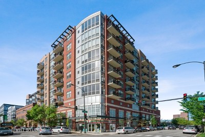Condo/Townhouse For Sale: 1201 West Adams Street #405