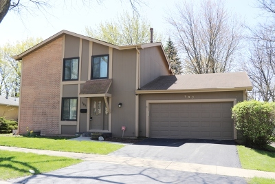 Roselle Single Family Home For Sale: 787 Oregon Trail