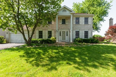 Island Lake Single Family Home Price Change: 711 Wood Creek Court