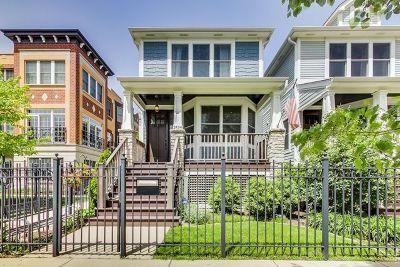 Single Family Home Price Change: 2434 West Fletcher Street