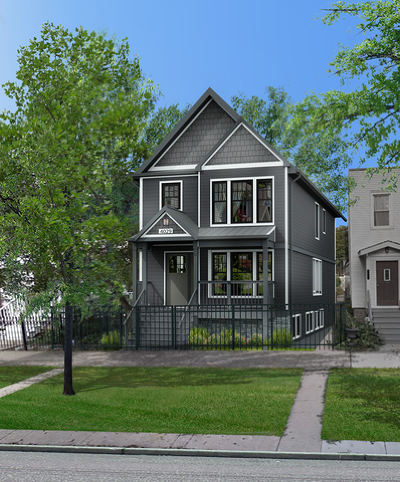 Single Family Home For Sale: 4029 North Maplewood Avenue