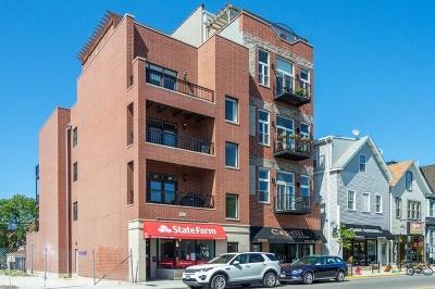 Roscoe Village Condo/Townhouse For Sale: 2332 West Belmont Avenue #3
