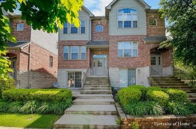 Westmont Condo/Townhouse For Sale: 265 North Wilmette Avenue