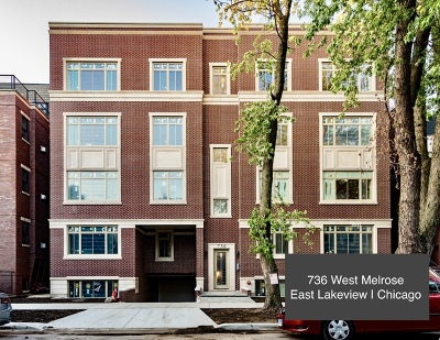 Condo/Townhouse For Sale: 736 West Melrose Street #4W