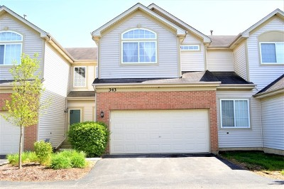 Streamwood Condo/Townhouse Contingent: 343 Southwicke Drive