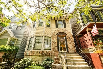 Single Family Home For Sale: 4244 North Ashland Avenue
