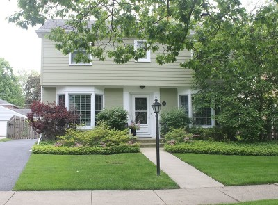 Wilmette Single Family Home For Sale: 2121 Greenwood Avenue