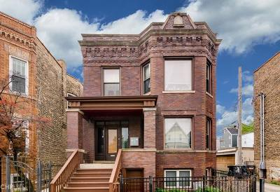 Multi Family Home Contingent: 3111 West Diversey Avenue