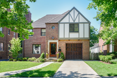 Wilmette Single Family Home For Sale: 2027 Beechwood Avenue
