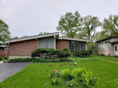 Wilmette Single Family Home For Sale: 813 Leamington Avenue