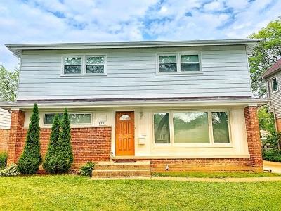 Niles Single Family Home Price Change: 8293 North Wisner Street