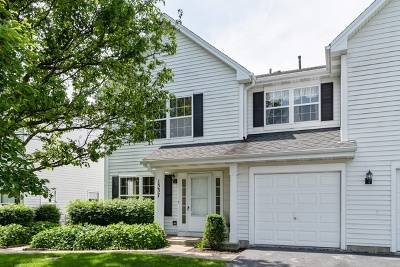 Mundelein Condo/Townhouse For Sale: 1337 Orleans Drive