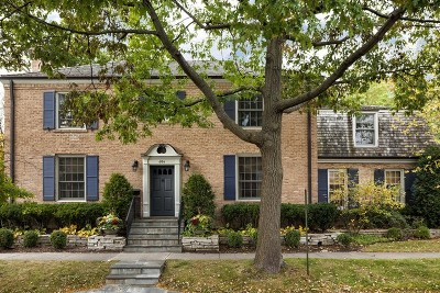 Kenilworth Single Family Home For Sale: 604 Brier Street