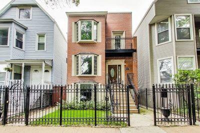 Single Family Home For Sale: 1847 West Wellington Avenue