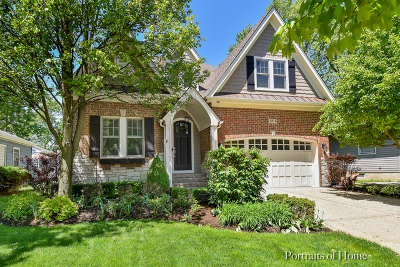 Naperville Single Family Home For Sale: 1311 North Webster Street