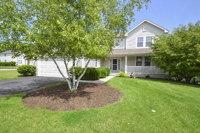 Round Lake Single Family Home Price Change: 835 North Overlook Circle