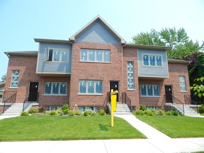 Morton Grove Condo/Townhouse For Sale: 8649 Callie Avenue #A-B-C