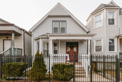 Single Family Home For Sale: 1732 North Albany Avenue