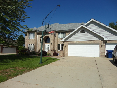 Homer Glen Single Family Home For Sale: 16939 Meadowcrest Drive