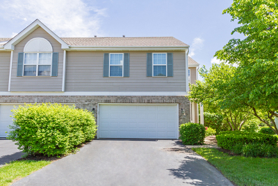 Streamwood Condo/Townhouse For Sale: 59 Colonial Court