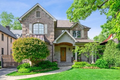 Winnetka Single Family Home For Sale: 903 Cherry Street