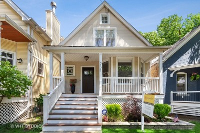 Single Family Home For Sale: 3121 North Honore Street