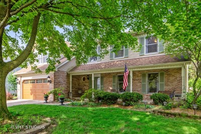Naperville Single Family Home Price Change: 1517 Terrance Drive