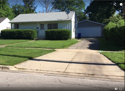 Wheaton Single Family Home For Sale: 819 East Indiana Street