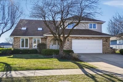 Mokena Single Family Home Price Change: 19526 Bedford Lane