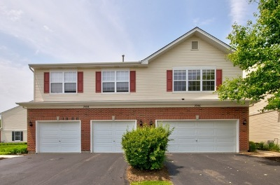 Romeoville Condo/Townhouse For Sale: 1906 Crestview Circle