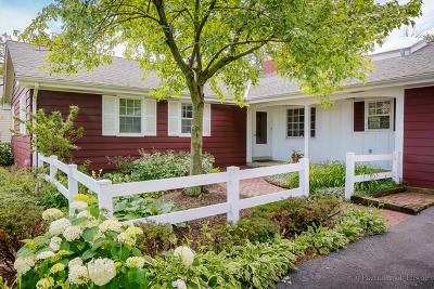 Glen Ellyn Single Family Home For Sale: 245 Geneva Road