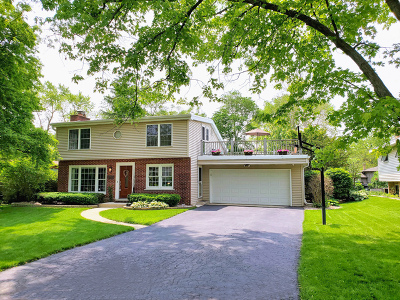 Glen Ellyn Single Family Home Price Change: 22w407 Tamarack Drive