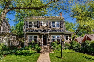 Evanston Single Family Home New: 2211 Asbury Avenue