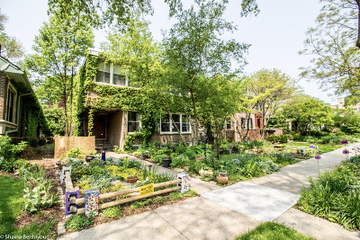 Evanston Single Family Home For Sale: 604 Barton Avenue