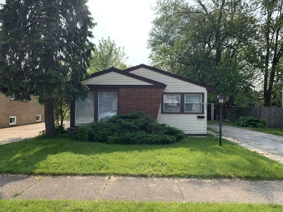 Midlothian IL Single Family Home For Sale: $149,900