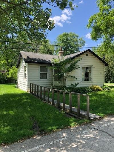 Lisle Single Family Home Contingent: 4704 Elm Street